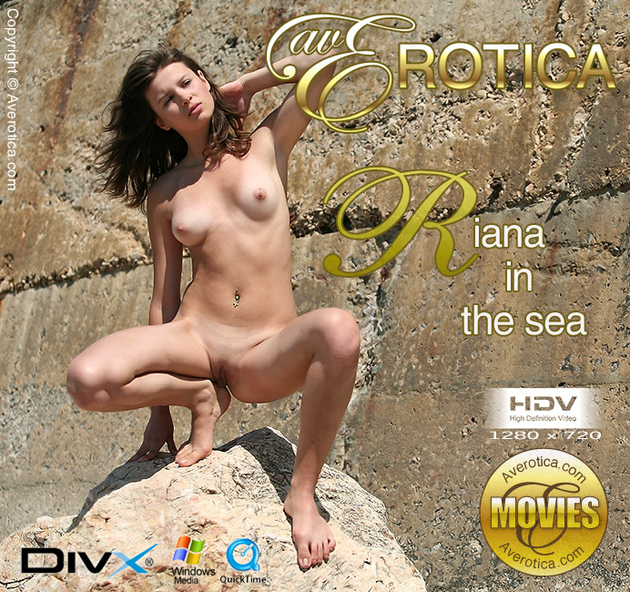 Riana in sea